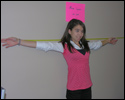 Photo: How to measure your arm span